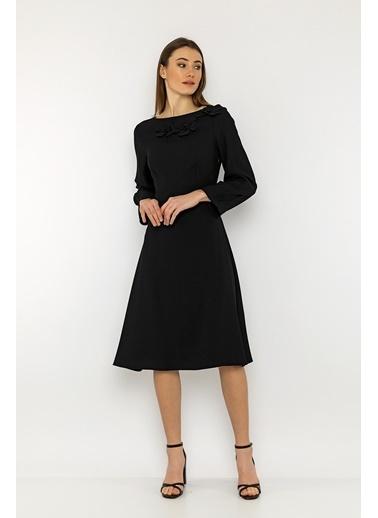 Berr-in  Talia Elbise Siyah